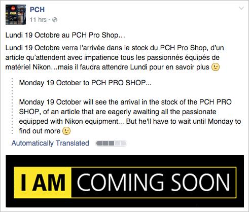 Nikon-announcement-rumors