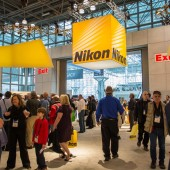 Nikon booth at the 2015 PhotoPlus Expo