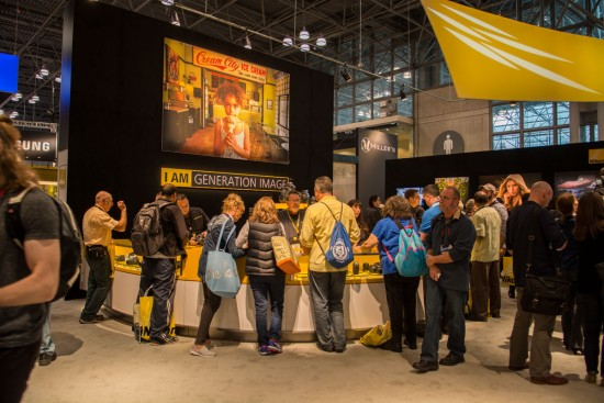 Nikon booth at the 2015 PhotoPlus Expo 2