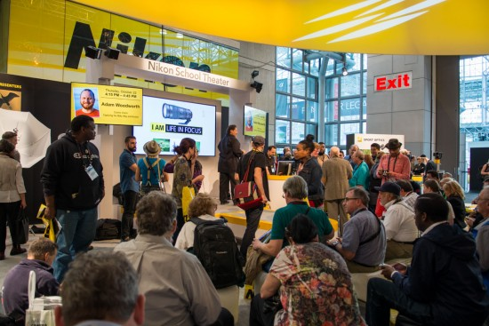Nikon booth at the 2015 PhotoPlus Expo 6