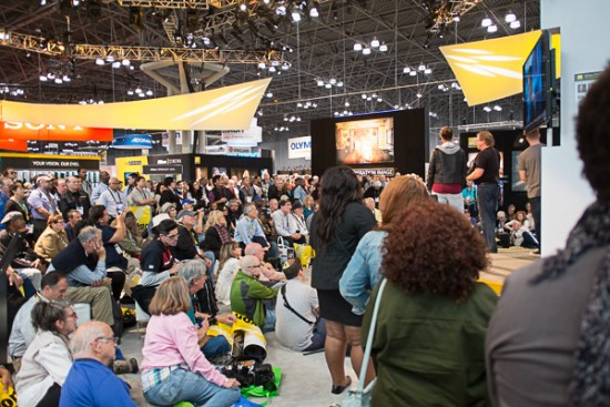Nikon booth at the 2015 PhotoPlus Expo Joe McNally