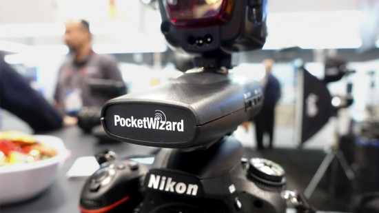 Pocketwizard Plus IV transceiver for Nikon cameras