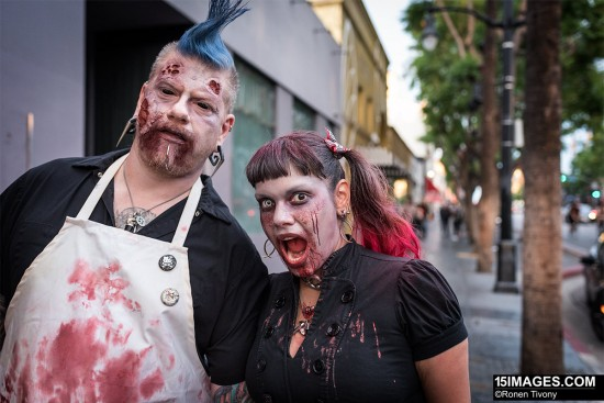 Shooting zombies with the Nikon D750 3