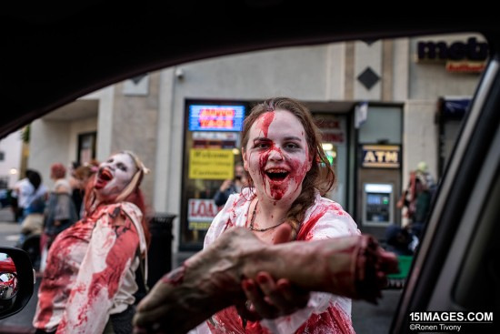 Shooting zombies with the Nikon D750