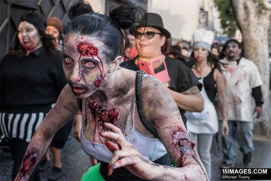 Shooting zombies with the Nikon D750 6