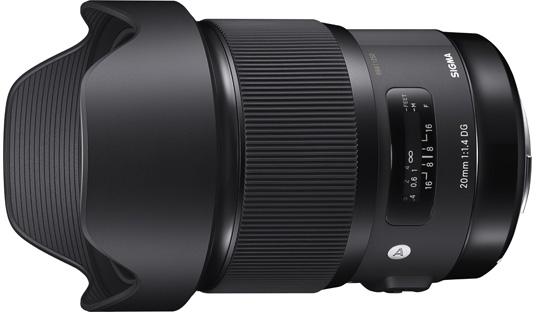 Sigma 20mm f:1.4 DG HSM Art lens 3