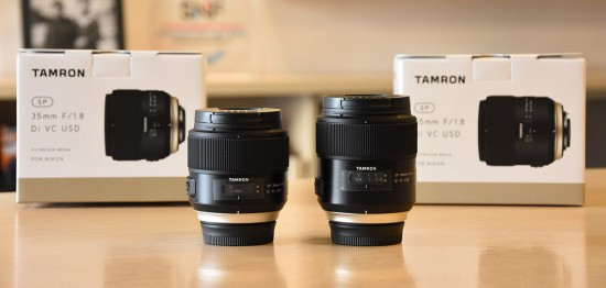 Tamron-SP-35mm-and-45mm-f1.8-Di-VC-USD-lenses