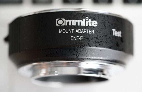 Commlite Nikon F-mount to Sony E-mount autofocus adapter 8