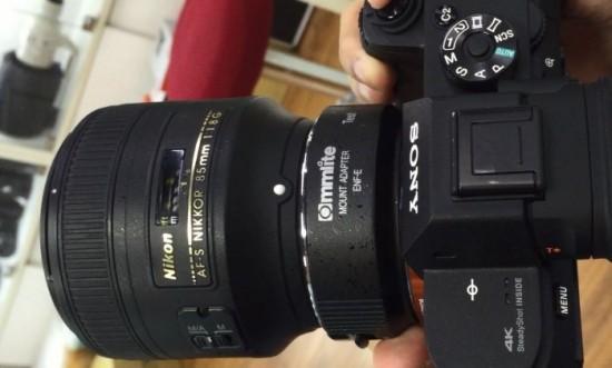 Commlite Nikon F-mount to Sony E-mount autofocus adapter 9