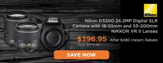 Nikon D3200 deal