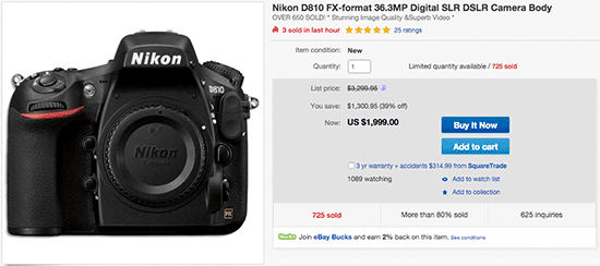 Nikon-D810-new-low-price