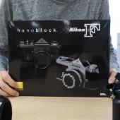 Nikon F model nanoblock kit 1