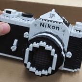 Nikon F model nanoblock kit 5