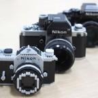 Nikon F model nanoblock kit 6