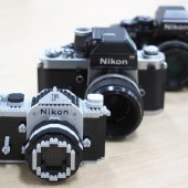 Nikon F model nanoblock kit 6