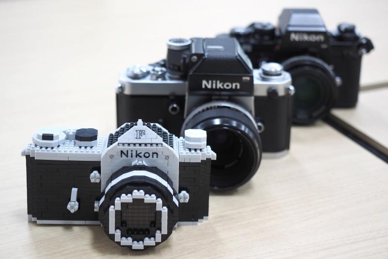 nikon f model nanoblock kit now available on ebay nikon rumors Nikon D5100 vs Canon T3i Nikon D5100 Remote