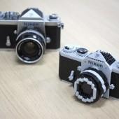 Nikon F model nanoblock kit 7