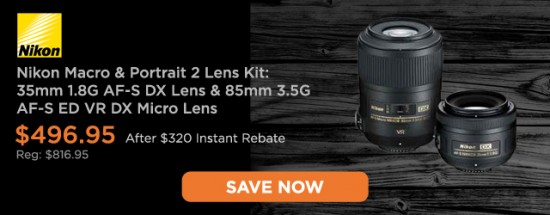 Nikon lens deal