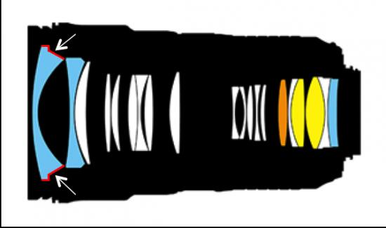 The white spots:artifacts inside he Nikon AF-S Nikkor 24-70mm f:2.8E ED VR lens are just fine