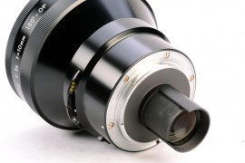 rare Nikkor 10mm f:5.6 Fisheye OP Nippon Kogaku 180 degrees Nikon F fisheye lens back