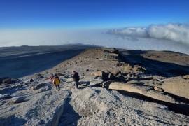 Freja descends from Kilimanjaro_0493