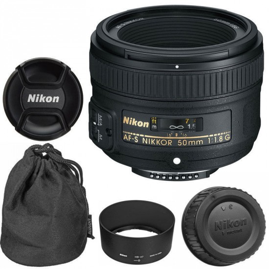 Nikon AF-S 50mm f:1.8G AF lens deal