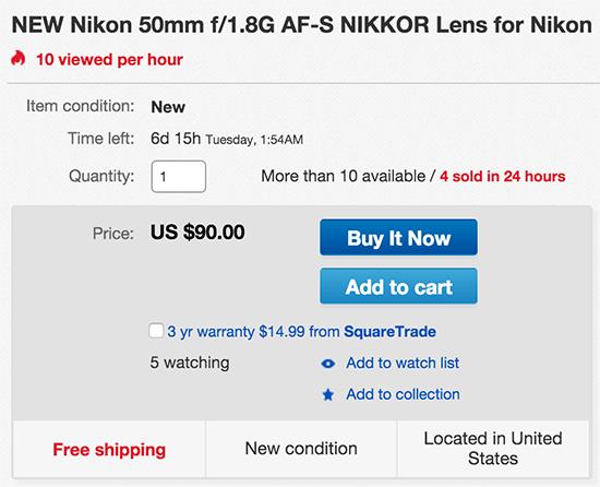 Nikon-AF-S-50mm-f1.8G-lens-deal