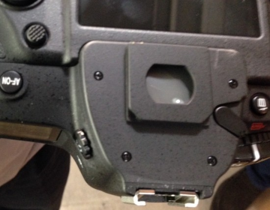 Nikon D5 DSLR viewfinder