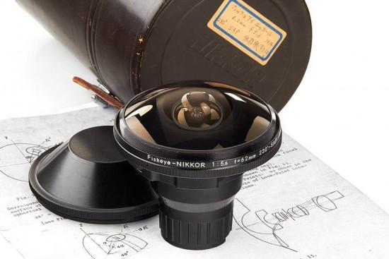 Nikon Fisheye Nikkor 5.6:6.2mm lens