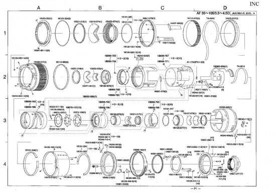 Nikon resurrection - repairing a broken lens
