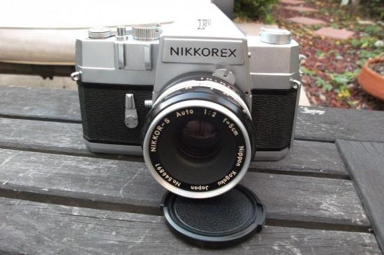 Rare 1962 Nikkorex SLR camera