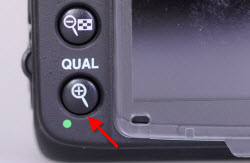 D7000 camera back - location of second reset button