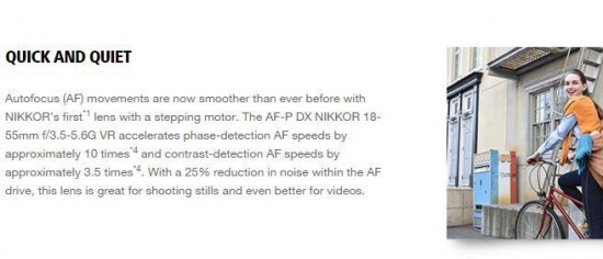 Nikon AF-P DX NIKKOR 18-55mm f:3.5-5.6G VR lens improvements