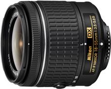Nikon AF-P DX NIKKOR 18-55mm f:3.5-5.6G lens