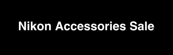 Nikon Accessories Sale