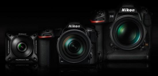 Nikon-D5-D500-KeyMission-360-cameras-pre-order