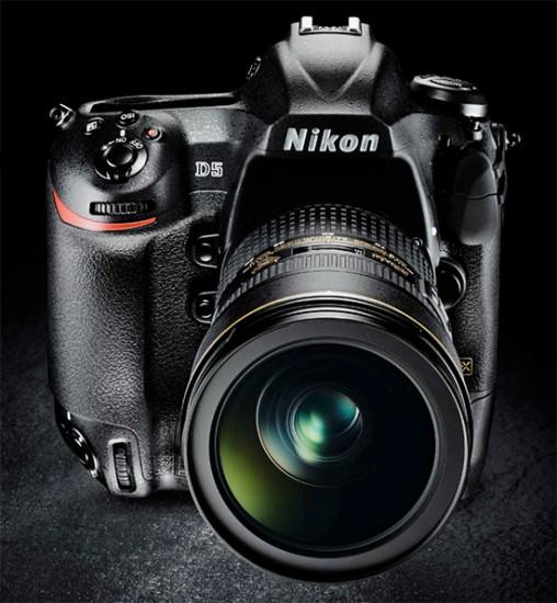 Nikon-D5-camera