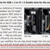 Nikon-D5-camera-memory-card-slots-can-be-exchanged