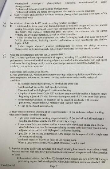 Nikon-D5-specifications-features-explained-internal-Confidential-document-2