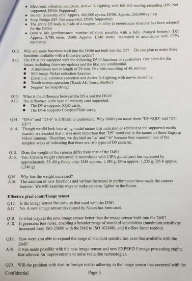 Nikon-D5-specifications-features-explained-internal-Confidential-document-5