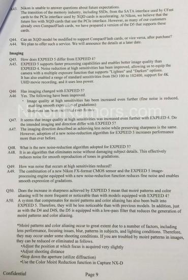 Nikon-D5-specifications-features-explained-internal-Confidential-document-9