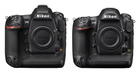Nikon D5 vs. D4s specifications comparison