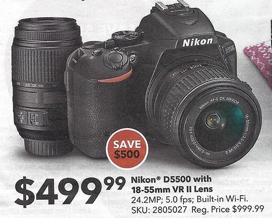 Nikon-D5500-deal
