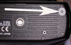 Nikon D70 reset
