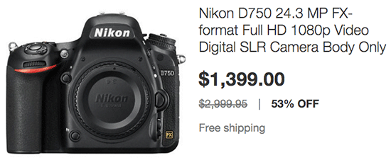 D750 deals uk
