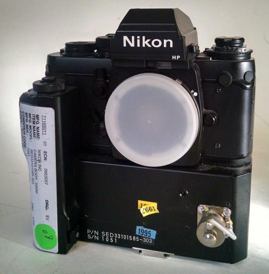 Nikon-F3-NASA-camera