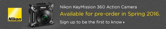 Nikon KeyMission 360 Action Camera pre-order