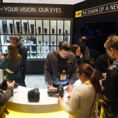 Nikon at the 2016 CES show