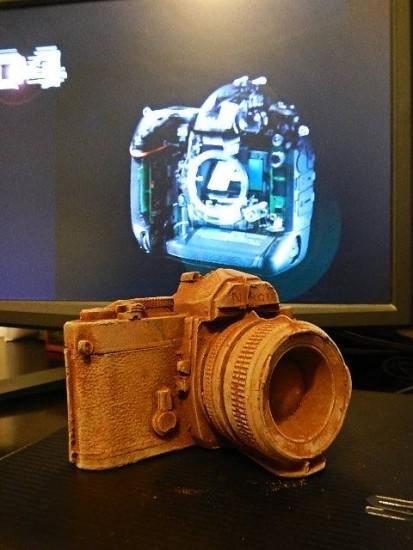 Nikon chocolate camera