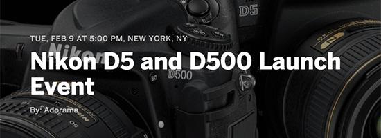 Nikon-D5-D500-Adorama-launch-event
